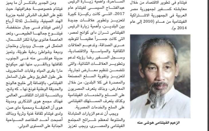 エジプト外務省、ベトナムとの関係を評価 - ảnh 1