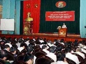 Konferensi Nasional  tentang meneliti dan mencengkam  Resolusi  nomor 7 Sidang Pleno KS PKV - ảnh 1
