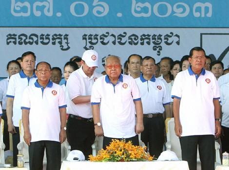 16 000 orang yang berpartisipasi pada pengawasan pemilu di Kamboja. - ảnh 1
