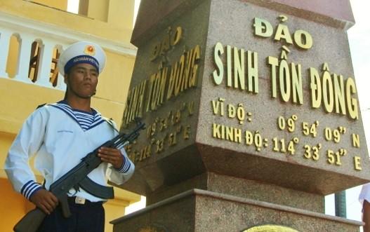 Pulau Sinh Ton Dong- Gardu jaga di pos depan Tanah Air - ảnh 1