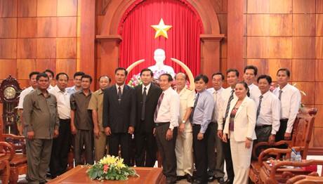 Vietnam dan Kamboja  memperkuat kerjasama pertanian - ảnh 1