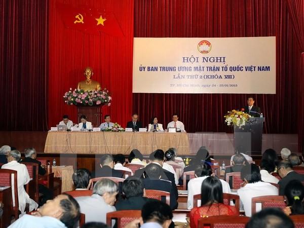 Pembukaan Konferensi ke-2 Presidium Pengurus Besar Front Tanah Air Vietnam - ảnh 1