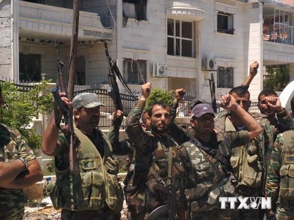 Tentara Suriah  memutus sumber  bantuan utama untuk kaum milisi - ảnh 1