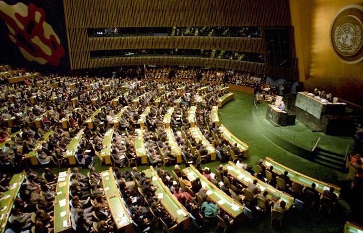 PBB memperingati ultah ke-70 berlangsungnya pertemuan pertama MU PBB - ảnh 1
