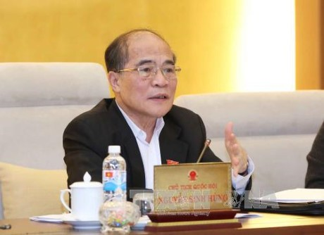 Persidangan ke-44 Komite Tetap MN Vietnam berakhir - ảnh 1