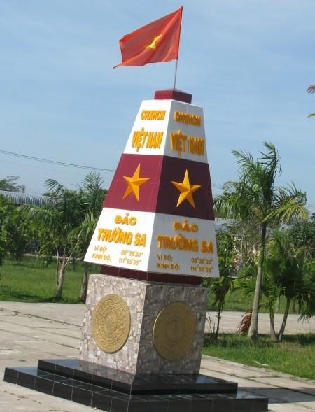 Memberikan pendidikan tentang semangat patriotisme, kedaulatan laut dan pulau Tanah Air kepada  anak-anak - ảnh 1