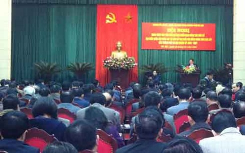 Kota Hanoi menggelarkan pekerjaan memimpin pemilihan anggota MN Vietnam angkatan ke-14 - ảnh 1