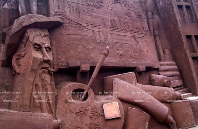 Terowongan tanah liat - destinasi  wisata  baru yang menyerap kedatangan para turis - ảnh 6