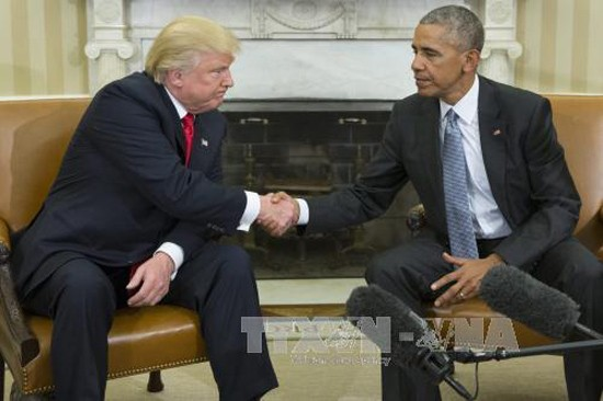 Presiden AS, Barack Obama berseru kepada Donald Trump supaya mengirim pesan  persatuan pasca pilpres - ảnh 1