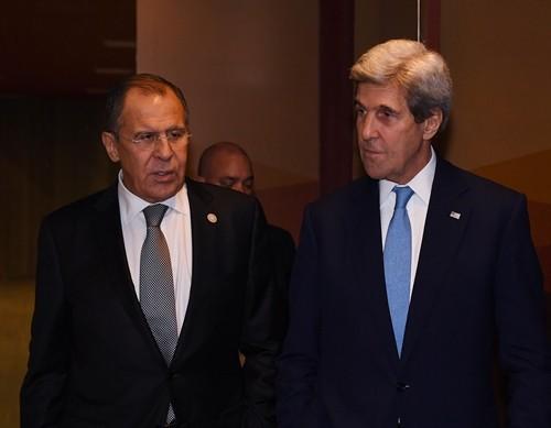 Menlu Rusia dan AS membahas serentetan masalah penting - ảnh 1
