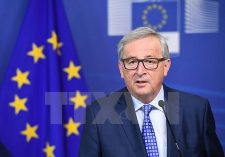 Presiden Komisi Eropa menuduh AS sedang mengusahakan permufakatan dagang dengan setiap negara Uni Eropa - ảnh 1