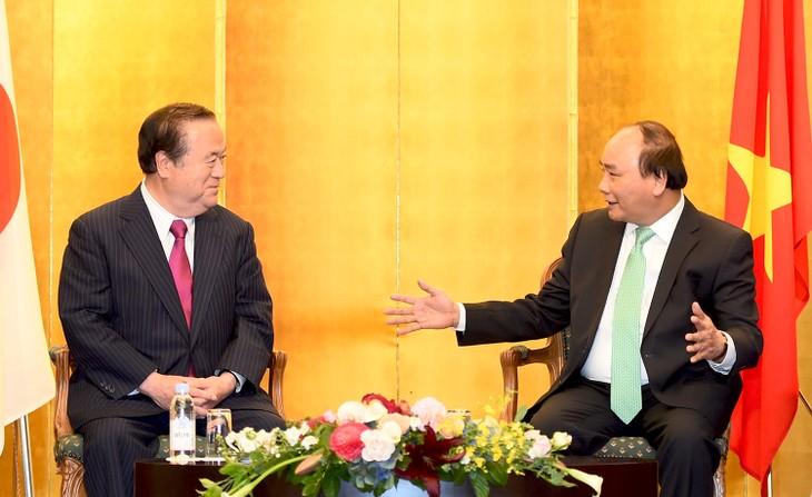 Aktivitas PM Vietnam,  Nguyen Xuan Phuc di Jepang - ảnh 1