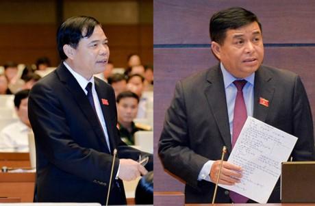 MN Vietnamakan  menyediakan 3 hari  untuk melakukan acara interpelasi terhadap para anggota Pemerintah - ảnh 1