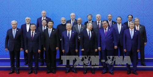 SCO menjunjung tinggi solusi diplomatik dalam memecahkan semua bentrokan dan krisis - ảnh 1