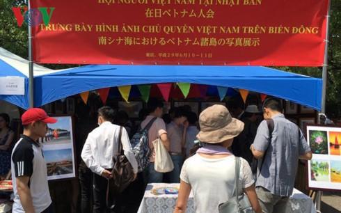 Pameran  menegaskan kedaulatan laut Vietnam di Tokyo, Jepang - ảnh 1