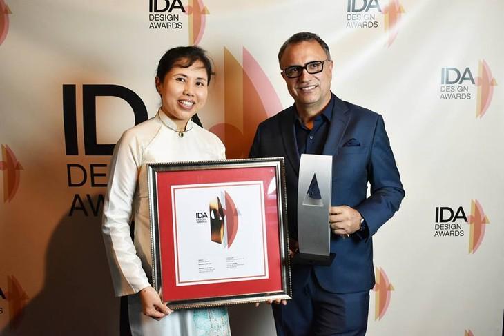 Vietnam memperoleh  penghargaan  Desain Internasional di AS - ảnh 1