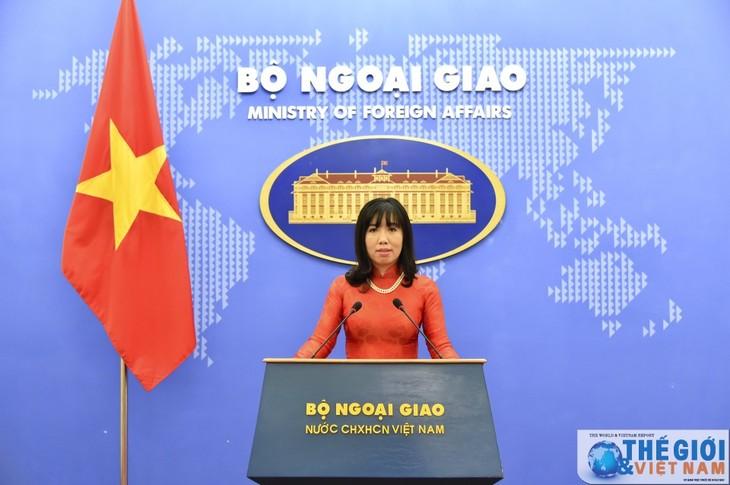 Rekasi Vietnam  tentang pernyataan Presiden Republik Korea, Moon Jae-in - ảnh 1
