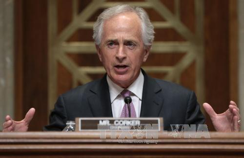 Senat AS mengesahkan resolusi sanksi terhadap Iran dan Rusia - ảnh 1