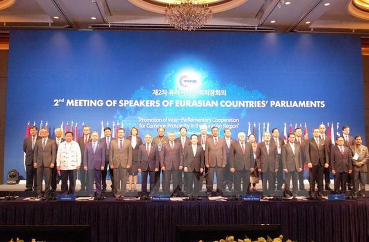 Wakil Ketua  MN Vietnam,  Uong Chu Luu menghadiri Konferensi ke-2 Ketua Parlemen Asia-Eropa di Republik Korea - ảnh 1