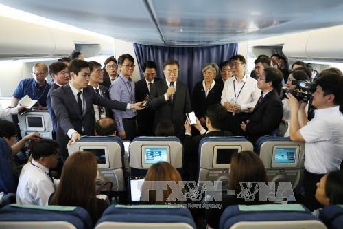 Presiden Republik Korea: Mengurangi skala latihan perang gabungan dengan AS bukanlah pilihan - ảnh 1