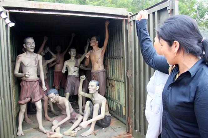 Rumah penjara Phu Quoc - Simbol dari  semangat  gigih dari para pejuang revolusioner - ảnh 10