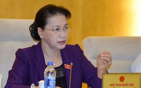 Komite Tetap MN Vietnam memberikan  pendapat tentang penyesuaian rencana modal anggaran keuangan pusat - ảnh 1