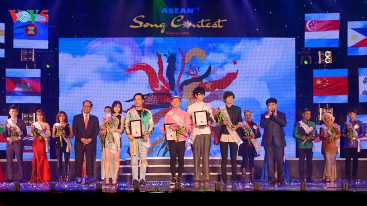 """VOV  menyelenggarakan secara sukses Kontes: """"Nyanyian ASEAN+3"""" - ảnh 1"""