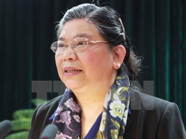 Wakil Ketua MN Tong Thi Phong  menghadiri sidang Badan Eksekutif AIPA-38 - ảnh 1