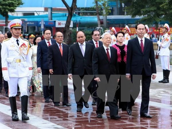 Sekjen KS PKV, Nguyen Phu Trong: Kemenangan Revolusi Vietnam berkaitan dengan pengaruh Revolusi Oktober Rusia - ảnh 2