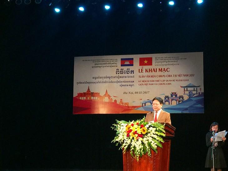 Pembukaan Pekan Kebudayaan Kamboja di Vietnam - ảnh 1