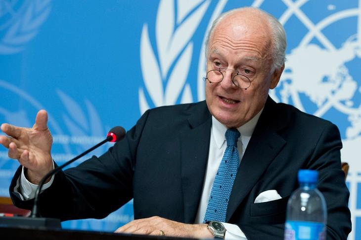 Rusia dan PBB sepakat cepat menyelenggarakan  Kongres Dialog Nasional Suriah - ảnh 1