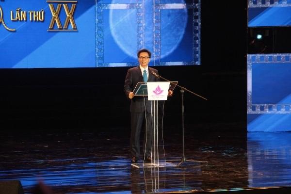 Pembukaan Festival Film Vietnam ke-20 tahun 2017 - ảnh 1