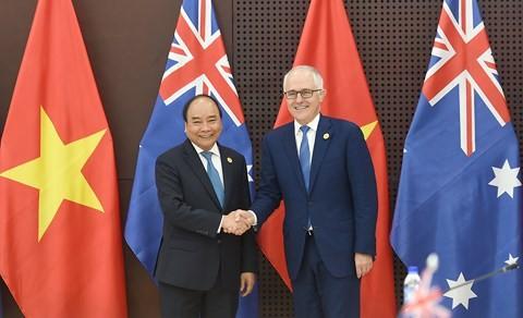 Tonggak baru dalam hubungan Vietnam-Australia - ảnh 1