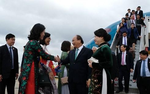 Pers Australia memberitakan secara menonjol kunjungan PM Vietnam, Nguyen Xuan Phuc - ảnh 1