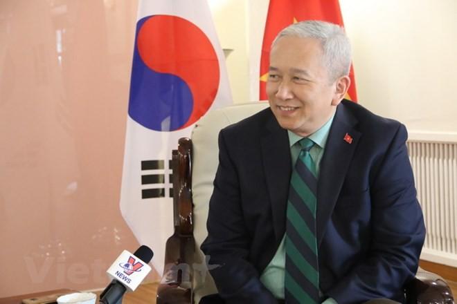 Duta Besar Vietnam di Republik Korea: Masa depan hubungan  Vietnam-Republik Korea  akan terus lebih cerah lagi - ảnh 1