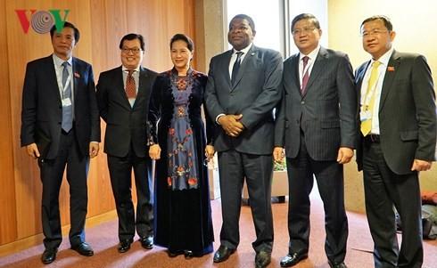 Aktivitas Ketua MN Vietnam, Nguyen Thi Kim Ngan di Majelis Umum  IPU - ảnh 1