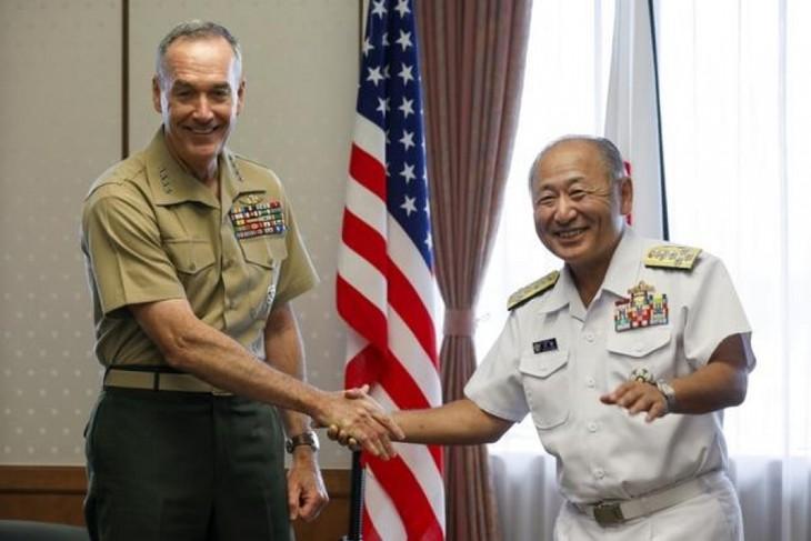 AS dan Jepang  menjunjung tinggi  hubungan persekutuan di Asia-Pasifik - ảnh 1