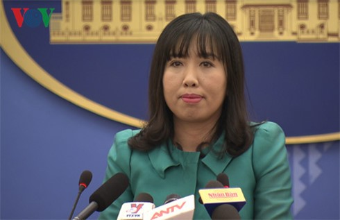 Vietnam mengucapkan selamat dan  menilai tinggi upaya-upaya  yang dijalankan Republik Korea dan RDRK dalam mengadakan secara sukses  pertemuan puncak antar-Korea - ảnh 1