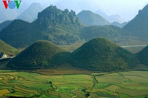 Gunung dan hutan Quan Ba  dan legenda gunung Doi - ảnh 1