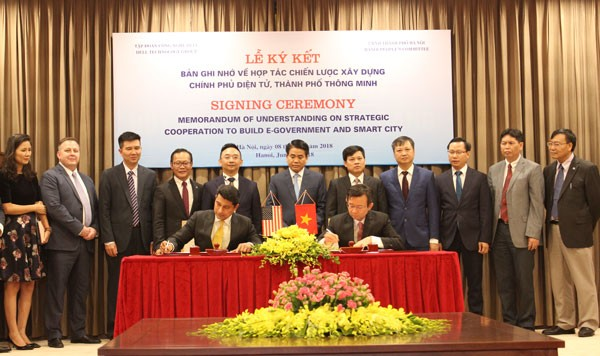Kota Ha Noi dan Grup Teknologi Dell bekerjasama membangun kota pintar - ảnh 1
