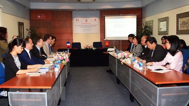 Viet Nam dan Perancis memperhebat kerjasama di bidang kebudayaan - ảnh 1