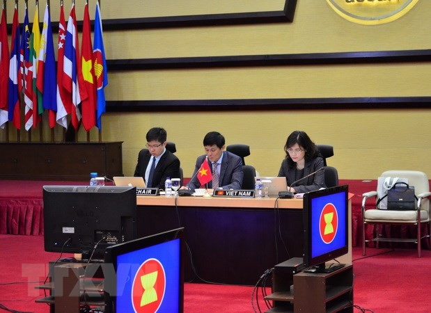 Viet Nam bersama  memimpin sidang  ke-18 Komite Kerjasama Bersama  ASEAN-India - ảnh 1