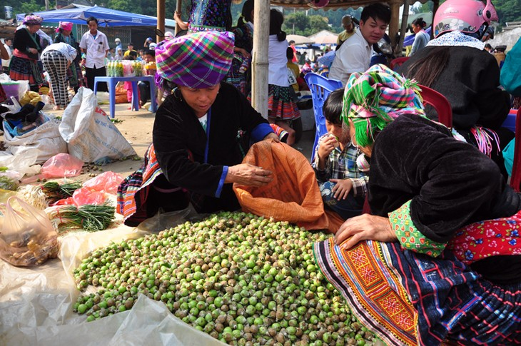 Pasar lama di bawah kaki gunung Hoang Lien Son - ảnh 3