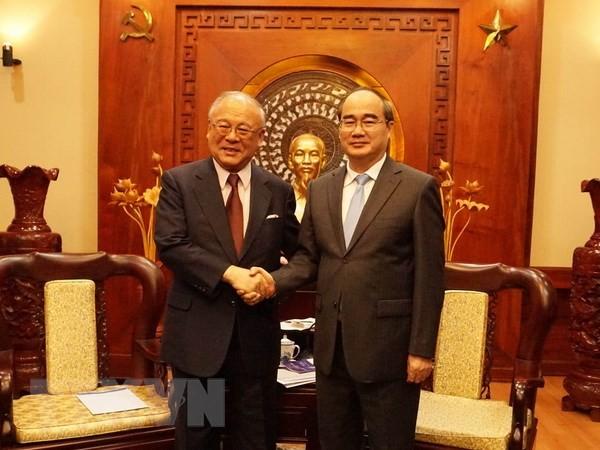 Kota Ho Chi Minh menginginkan Jepang terus membantu pengembangan pertanian teknologi tinggi - ảnh 1