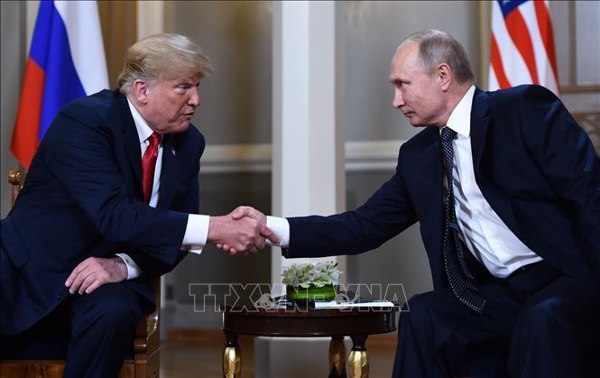 Presiden AS membela upayanya  dalam  menggalang hubungan dengan Presiden Rusia - ảnh 1