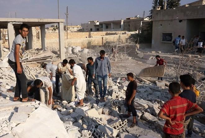 Rusia   mendesak pasukan koalisis  internasional  bertindak secara bertanggung jawab di Suriah - ảnh 1