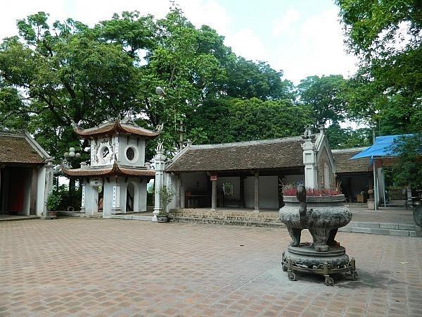 Kuil Va-Situs peninggalan sejarah untuk memuja Dewa Gunung Tan Vien - ảnh 1