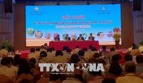 Konferensi mengkonektivitaskan pemasaran hasil pertanian  provinsi-provinsi  perbatasan Vietnam--Tiongkok  - ảnh 1