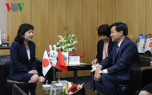 Kepala Inspektorat Pemerintah Le Minh Khai melakukan kunjungan kerja di Jepang - ảnh 1