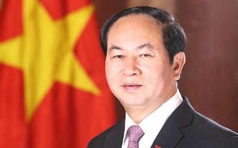 Presiden Viet Nam, Tran Dai Quang mengirim surat selamat kepada Majelis Umum AIPA-39 - ảnh 1